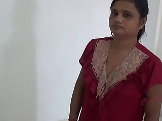 Indian Hot aunty relaxing at home