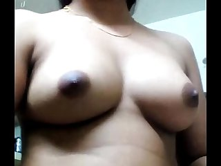 My mallu girlfriend playing with her boos
